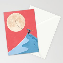 Moon Stationery Cards