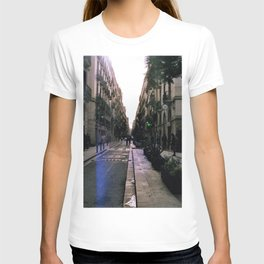 A Street in Barcelona, Spain | 35mm Travel Photography T-shirt