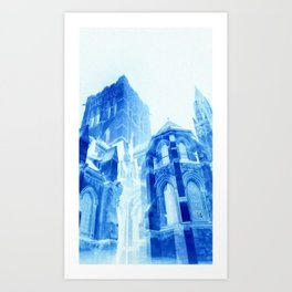 Crystal Cathedral Art Print