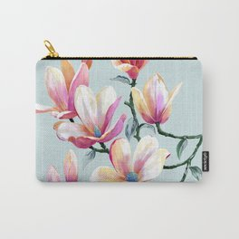 Graceful Flowers Carry-All Pouch