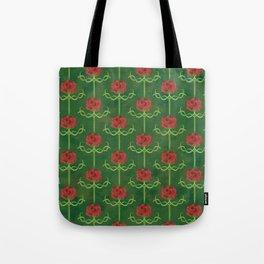 Spring Roses Pattern Tote Bag