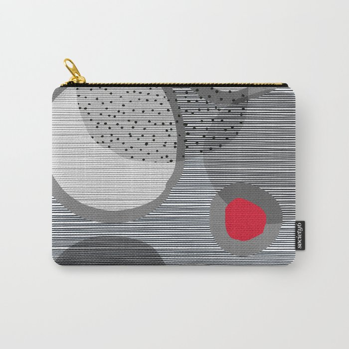 the red dot Carry-All Pouch