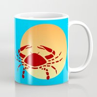 cancer Mugs featuring Cancer by Geni