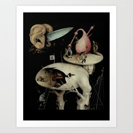 Tree Man, Surreal, Hieronymus Bosch, The Garden of Earthly Delights Art Print