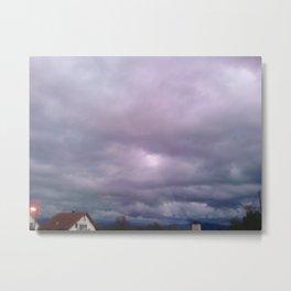 Colored sky Metal Print