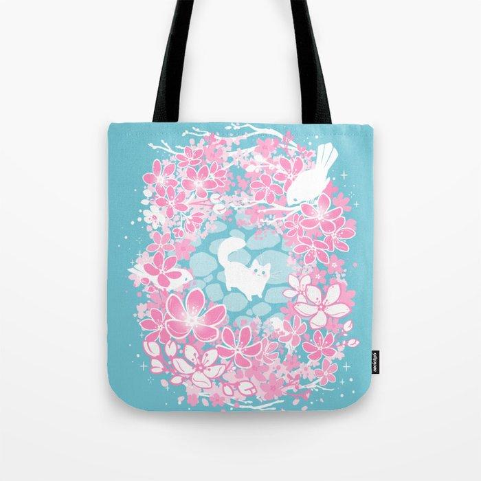 Spring Greeting Tote Bag
