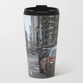 Hong Kong Street Metal Travel Mug