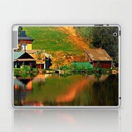 A village in the mirror Laptop & iPad Skin