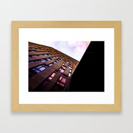 Checked Out Framed Art Print