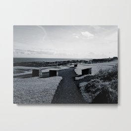 The Coastal Path Metal Print