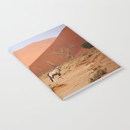 NAMIBIA ... Sossusvlei Oryx II Notebook