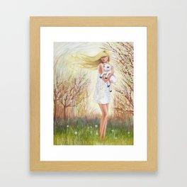 Field of Peace Framed Art Print