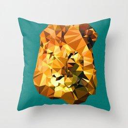 Atayah's Lion Throw Pillow