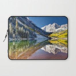 Maroon Bells Colorado Laptop Sleeve