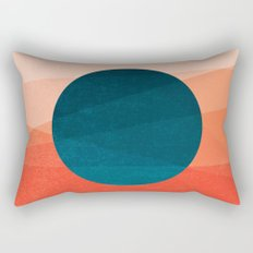 Solar Eclipse Rectangular Pillow
