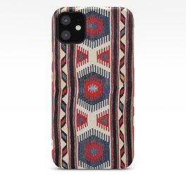 Kazak  Antique Southwest Caucasus Kilim Print iPhone Case