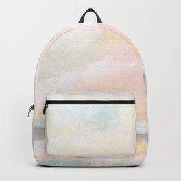 Rebirth - Pastel Ocean Seascape Backpack