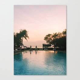 Mornings on the Gulf of Thailand Canvas Print