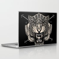 bioworkz Laptop & iPad Skins featuring Eye of the Tiger by BIOWORKZ