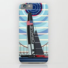 Never Give Up ! Oracle Team USA America's Cup iPhone 6 Slim Case