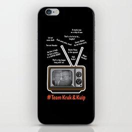 Team Kruk & Kuip iPhone Skin