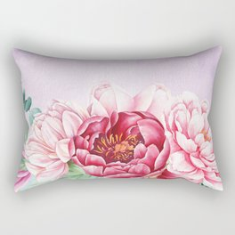 Flowers bouquet 63 Rectangular Pillow