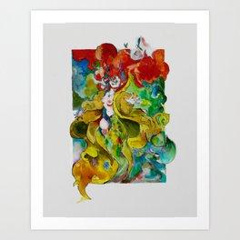 Delirium Art Print