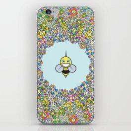 FLOWER POWER BEE iPhone Skin