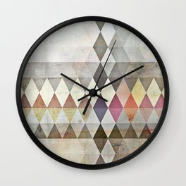 Grunge K7 Wall Clock
