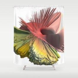 3d art - Revolution Shower Curtain