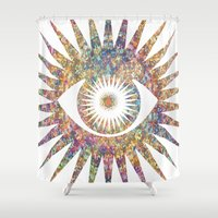 prism Shower Curtains featuring PRISM by shutupbek