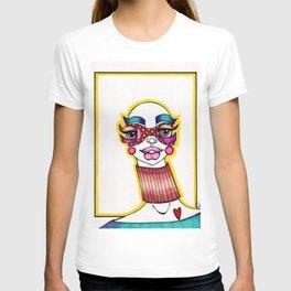JennyMannoArt Colored Illustration/Sheila T-shirt