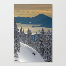 LIMITED EDITION (Almost sold out)  - KEVIN SANSALONE / HOWE SOUND SQUAMISH BC Canvas Print