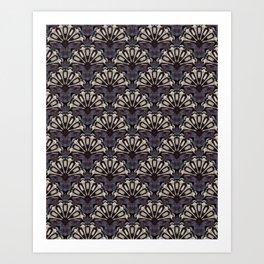 Purple Fur Art Print