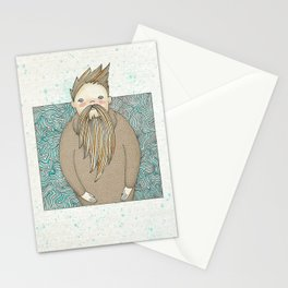 The Man Who Miss Summer Stationery Cards