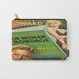 Vintage poster - Of Human Bondage Carry-All Pouch