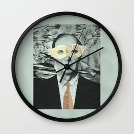 hello minister Wall Clock