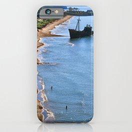 Dimitrios shipwreck gythion greece iPhone Case