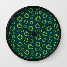 Musical repeating pattern No.6, Collection No.1 Wall Clock
