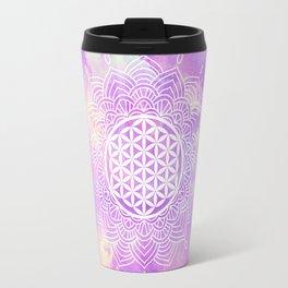 Flower Of Life (Soft Whispers) Travel Mug