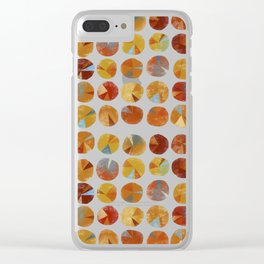 Pies Are Squared Clear iPhone Case