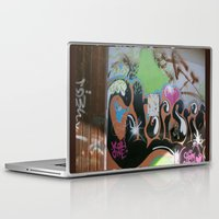 graffiti Laptop & iPad Skins featuring graffiti by gasponce