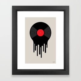 Liquid Sound Framed Art Print