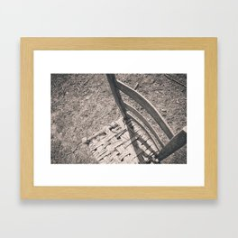 chair. Framed Art Print