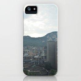 Overlooking Seoul iPhone Case