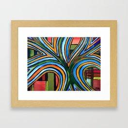 Glory Tree Framed Art Print