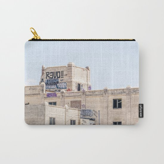 White Castle Carry-All Pouch