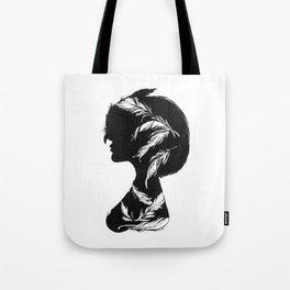 Owlphelia Silhouette Tote Bag