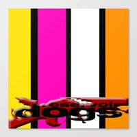 reservoir dogs Canvas Prints featuring Reservoir Dogs by KP Designs