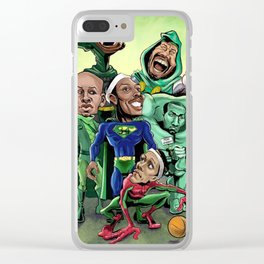 hero basket ball Clear iPhone Case